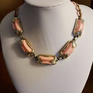 Pink Costume Choker Necklace